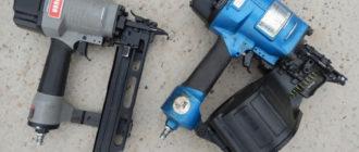Пневматический пистолет для гвоздей